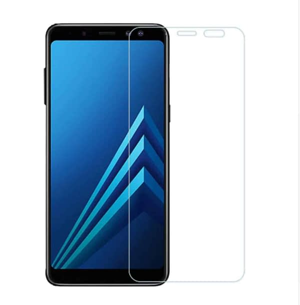 Royal Star 2.5D Curved Edge 0.33mm 9H Tempered Glass Screen Protector Guard for (Samsung Galaxy A6 Plus, Pack of 4Pcs) 1