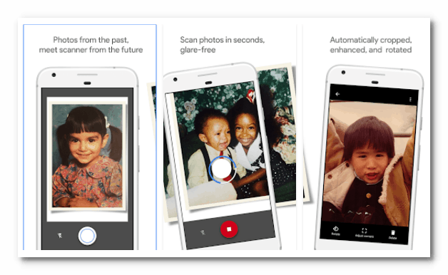 Scan Any Photo with PhotoScan by Google 3